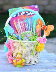 diy easter basket simple diy easter baskets my frugal adventures