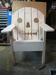 Wooden Skull Chair Chair Sugar Skull By Pinechopper Lumberjocks Com