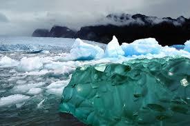 Frozen Waves Ice Green