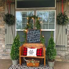 rustic farmhouse front porch decor 35 homedecort christmas front porch christmas pinterest christmas front