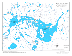 Table Rock Lake Map Whitewater Lake Ontario Northern Pike Fishing U0026 Lodging Mattice