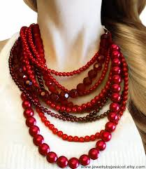 red necklace women images Red necklaces clipart jpg