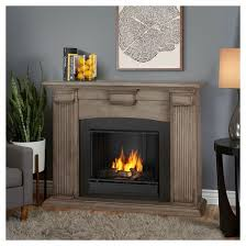 Real Fire Fireplace by Real Flame Adelaide Gel Fireplace White Target