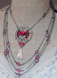 vintage necklace styles images 1304 best recreated vintage jewelry images jewelry jpg