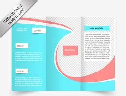 brochure 3 fold template psd photoshop tri fold brochure template 12 free brochure templates
