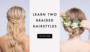 hairstyles with steps diy wedding hairstyles learn how to style two looks inside weddings