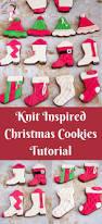 knit inspired christmas cookies tutorials veena azmanov