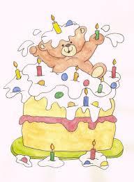 benny bear u0027s birthday cake