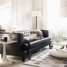 Decorate Living Room Black Leather Furniture Living Room Design With Black Leather Sofa Best 25 Leather Sofa