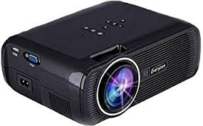 buy ooze oozex7black led projector home cinema theater black