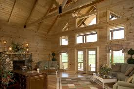 log home interior design swan ridge lodge log homes timber frame and log cabins by