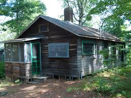 classic fish camp two cabins on long pond cedarville cape cod