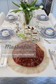 passover seder set fully set passover seder table with seder plate and matzah cover