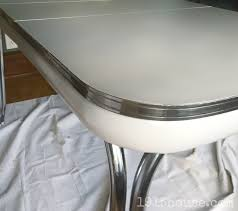 Formica Table Tops by Old Formica Table Gets A Fresh New Look 1915 House