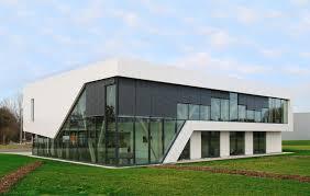 siege social conforama bois et verre pour le nouveau siège social de briand construction
