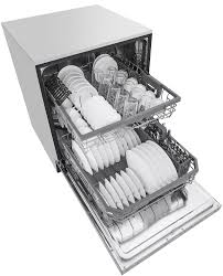 Stainless Steel Lg Dishwasher Lg Stainless Steel Built In Dishwasher Ldt5665st