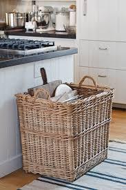 Kitchen Storage Ideas Pinterest Best 25 Storage Baskets Ideas On Pinterest Hanging Wall Baskets