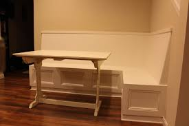 L Shaped Bench Dining Tables Wonderful White Grey Wood Modern Design Living Room Ideas Retro