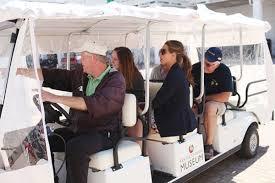 around the track golf cart tour kentucky derby museum