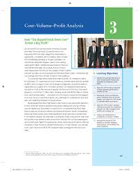 Cost Volume Profit Graph Excel Template Cost Volume Profit Analysis