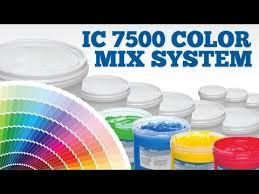 ic7500 quart pantone color match kit ryonet youtube
