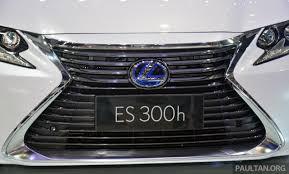 lexus es facelift shanghai 2015 lexus es facelift unveiled new 2 0 mill image 330390