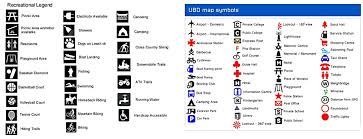 map legend symbols mapping skills my site