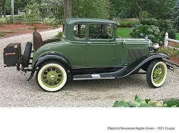 authentic ford model a color combinations prewar hop up
