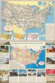 Map Of United States Of America by A Pictorial Map Of The United States Of America Showing Principal