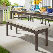 aluminum outdoor benches patio chairs the home depot