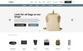 limo e commerce multi purpose template bootstrap e commerce