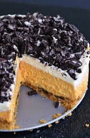 layered oreo pumpkin cheesecake recipe will cook for smiles