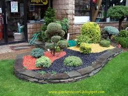 Lovable Decor Stones For Garden Garden Decor With Stones Stone