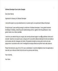 cover letter software cover letter for software engineer cover