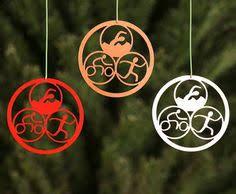 triathlon ornaments swim bike run set of 3 by tributesport