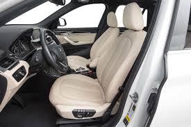 bmw car seat 2017 bmw x1 xdrive28i review test