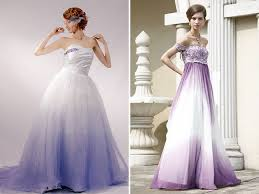 purple wedding dresses amazing white and purple wedding dresses ladystyle