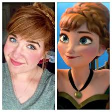 anna from frozen hairstyle ideas about elsa and anna hairstyles cute hairstyles for girls