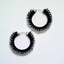 Knitted Chandelier Earrings Pattern 10 Beautiful U0026 Free Crochet Earrings Patterns In Thread Moogly