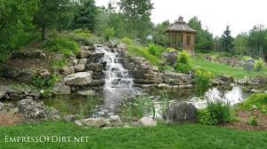 Waterfall In Backyard 17 Beautiful Backyard Pond Ideas For All Budgets Empress Of Dirt
