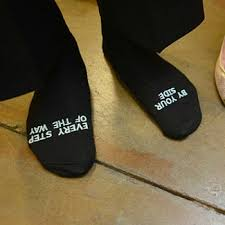 sayings for and groom socks with personalized sayings for the groom bridal party