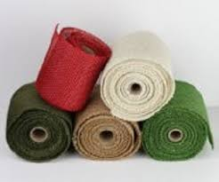 colored burlap ribbon 6 inch colored burlap ribbon wholesale burlap ribbon