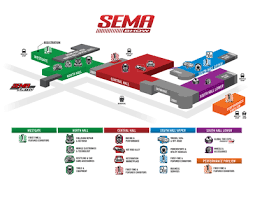 new sema show expansion area near south hall sema