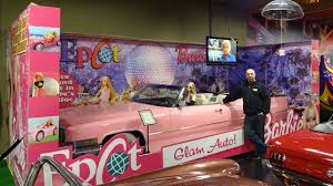 barbie 57 chevy barbie u0027s pink 1970 cadillac convertible volo auto museum on my