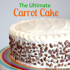 the ultimate carrot cake with cream cheese frosting the best