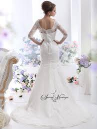 robe de mariã e avec dentelle robe de mariee dentelle manche blanche ivoire ou naturelle