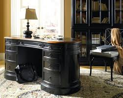 luxury home office furniture design of weathered black collection