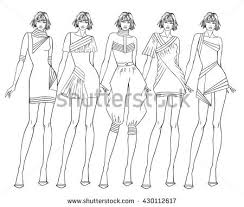 fashion design coloring pages fashion design sketch stock images royalty free images u0026 vectors