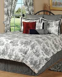 fresh toile bedding sets queen 14359