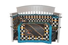 Amazon Com Comforter Bed Set by Race Car Crib Bedding Daily Duino